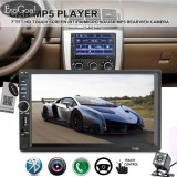 Harga Esogoal 7 Double Din Touchscreen Di Dash Bluetooth Mobil Stereo Mp3 Audio 1080 P Video Player Fm Radio Tf Usb Aux In Rear View Camera Remote Control Tidak Ada Cd Dvd Gps Intl Asli Esogoal