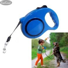 Beli Esogoal Dog Retractable Leash 5 M Dengan Nilon Yang Dapat Diperpanjang Timbal Dan Pegangan Yang Nyaman Tahan Lama Tidak Kusut Ringan Retractable Leash Untuk Kecil Dan Menengah Anjing Intl Murah Tiongkok