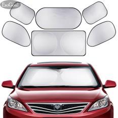 Beli Esogoal Full Car Sun Shade Lipat Perak Reflektif Jendela Mobil Sun Shade Visor Shield Cover Untuk Semua Jenis Mobil Suv Dan Truk Intl Esogoal Dengan Harga Terjangkau