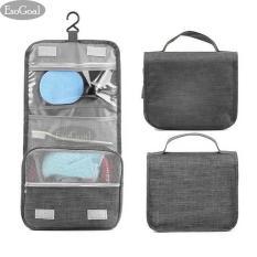 EsoGoal Hanging Toiletry Bag Travel Kosmetik Makeup Bag Bathroom Storage Organizer untuk Perjalanan Aksesoris Makeup Shampoo Kosmetik Barang Pribadi Pribadi Perawatan Toiletry Kit untuk Pria dan Wanita