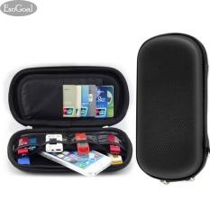 Harga Esogoal Sd Kartu Usb Flash Kasus Hard Drive U Disk Bag Universal Portable Waterproof Shockproof Aksesoris Organizer Holder Hitam Online Tiongkok
