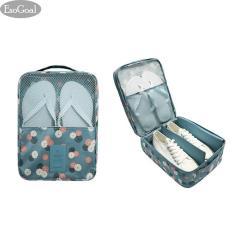 Harga Esogoal Tas Sepatu Tas Travel Tahan Air Sepatu Toe Organizer Case Holder 3 Pasang Sepatu Biru Terbaik