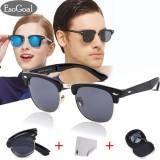 Spesifikasi Esogoal Vintage Folding Sunglasses Men Women Classic Fashion Eyewear Foldable Mirror Sun Glasses With Hard Case Intl Merk Esogoal