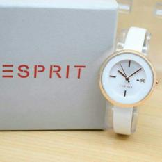 ESPRIT- Jam Tangan Wanita Fashion Leather Strap Tanggal Aktif