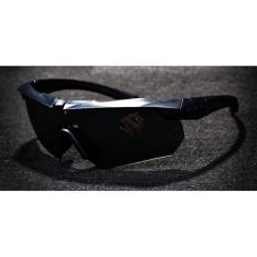 ESS Kacamata Hitam Polarized Dengan Frame Myopia - Black
