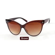 Penawaran Istimewa Etop Wanita Sunglasses Eyewear Casual Sunglasses Hitam Terbaru