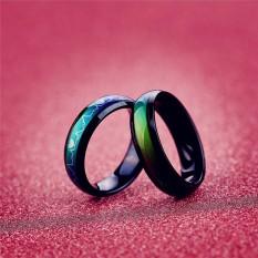 Eropa Vintage Kreatif Emosi Mood Ring Warna Mengubah Kepribadian Ring untuk Pria Wanita Pasangan Pecinta Hadiah Pesta-Internasional