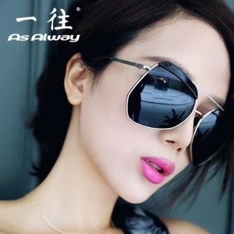Penjualan Polarisasi kacamata hitam wanita Kacamata pria kacamata hitam  pasang 2018 Model artis Pria mengemudi Korea Selatan kepribadian wajah  bulat mata ... 58fe98841f