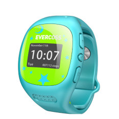 Jual Evercoss Smartwatch For Kids Jam Tangan Pintar Anak Anak Biru Satu Set