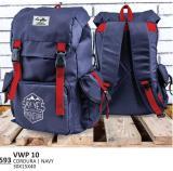 Jual Everflow Tas Ransel Laptop Backpack Cordura Vwp 10 Navy Baru