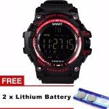 Ex16 X Watch Bluetooth Jam Tangan Pintar Tahan Air Profesional Ip67 Podometer Kesehatan Kebugaran Tracker Olahraga Smartwatch Untuk Ponsel Intl Zomtop Diskon 40