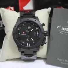 Expedition 6381 Full Black Original / Jam Tangan Pria