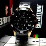 Jam Tangan Pria Expedition E 6719 Black Gold Original Expedition Diskon 40