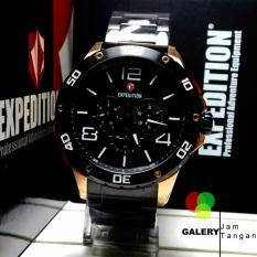 Jam Tangan Pria Expedition E 6719 black gold original
