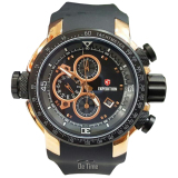 Spek Expedition E633 C Jam Tangan Pria Strap Rubber Hitam Rose Gold Expedition