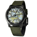 Expedition E6671 Jam Tangan Pria Dial Army Hijau Nylon Strap Hijau Original
