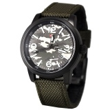 Jual Expedition E6671 Jam Tangan Pria Nylon Strap Hijau North Sumatra
