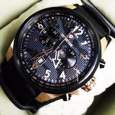 Expedition  E6694MRB Rose Black Jam Tangan Original Pria Limited Edition