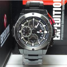 Beli Expedition Jam Tangan Pria Expedition E6696M Chronograph Black Stainless Steel List White Lengkap