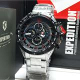 Beli Expedition Jam Tangan Pria Expedition E6721Mc Chronograph Silver Stainless Steel Dengan Kartu Kredit