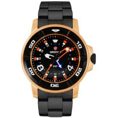 EXPEDITION Sea Walker - Jam Tangan Pria - Hitam - Stainless Steel - 1176FXE-88