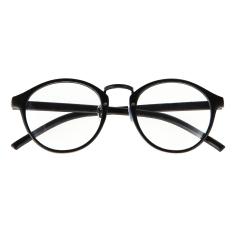 Kacamata Baca Kacamata Bingkai Optik Mata Polos Hitam