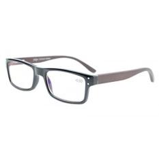 Eyekepper Komputer Pembaca Kualitas Spring Engsel Kayu Arms Mens Womens Membaca Komputer Kacamata Hitam + 0.5-Internasional