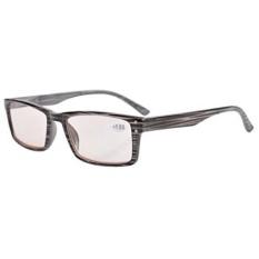 Eyekepper Perlindungan UV, Anti Glare/Biru Sinar, Tahan Gores Lensa Kacamata Membaca Komputer Pembaca Pria Wanita Abu-abu 1.75-Intl