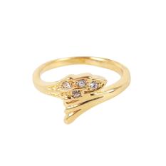 Eyo Jewelry Cincin Wanita SR 048 Gold