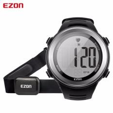 Harga Ezon Pria Jam Tangan Heart Rate Monitor Digital Watch Stopwatch Menjalankan Olahraga Wrist Jam Tangan Dengan Tali Dada Relogio Masculino Intl Seken