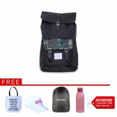 Spesifikasi Buy 1 Get 5 Ezplora Unisex Casual Bag Tas Ransel Punggung Nexus Army Dan Harga