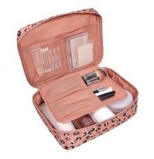 Spesifikasi Ezy Tas Travel Kosmetik Pink Motif Paling Bagus