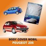 Harga F New Body Cover Mobil Peugeot 206 Perak Asli F New