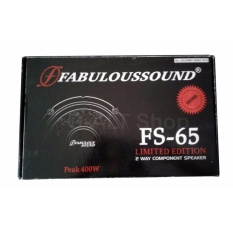 G-alt-Shop Fabulous Sound FS-65 Limited Edition - 2 Way Component Speaker
