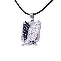 Fancyqube Anime Shingeki No Kyojin Metal Necklace Pendant Scouting Legion-Intl