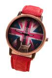 Beli Bendera Inggris Fancyqube Kulit Memulihkan Cara Kuno Perhiasan Merah Online