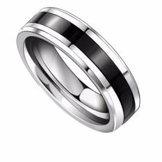 Fancyqube Titanium Cincin Baja Beberapa Ring Korea Kawin Hitam 21