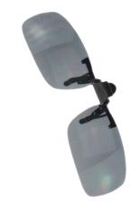 Fancyqube Adapula Hari Malam Visi Polaroid Jepitan Pada Sandal Up Kacamata Lensa Kaca Mata Mengemudi Praktis