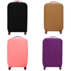 Harga Fantastis Bunga 20 24 28 Inch Berkualitas Tinggi Elastis Pelindung Cover Travel Luggage Suitcase Dust Proof Case Merah Int S Intl Fantastic Flower Ori
