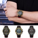 Beli Fantastic Flower Newest Hot Sale Men S Multi Purpose Timing Calendar Watch Silicone Strap Wristband Luminous Silica Quartz Watch Casual Fashion Luxury Gift Watches Gold One Size Intl Secara Angsuran