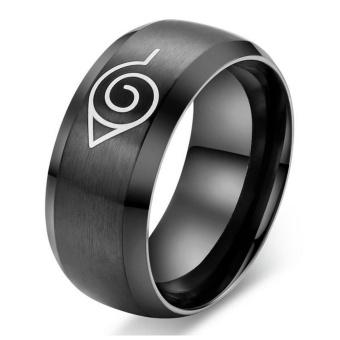 Beli sekarang Fashion Anime Naruto Pria Cincin Kualitas Tinggi Titanium Steel Punk Rings Perhiasan For Pria terbaik murah - Hanya Rp62.859
