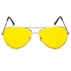 Fashion Aviator UV400 RB3089 Sunglasses - gold frame night vision lenses