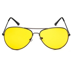 Fashion Aviator UV400 RB3089 Sunglasses - grey frame night vision lenses
