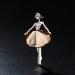 Harga Fashion Ballerina Gadis Bros Orisinalitas Crystal Kartun Ornamen Intl Terbaik