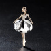 Jual Fashion Ballerina Gadis Bros Orisinalitas Crystal Kartun Ornamen Intl Antik