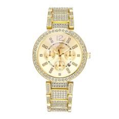 Fashion Contracted Mahal QUARTZ Alloy Set Auger Mata Wrist Watch-Intl