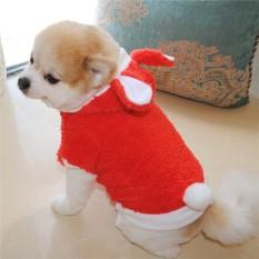 Fashion Lucu Pakaian Bermotif Kelinci Anak Anjing dan Anak Kucing Hewan Peliharaan Mengubah Pakaian-Intl