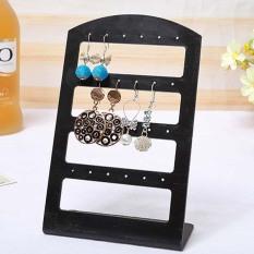 Fashion Ear Stud Display Holder Showcase Transparan Perhiasan Anting