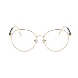 Harga Transparansi Busana Vintage Retro Bingkai Lensa Kacamata Lensa Optik Biasa Emas A 20 Yg Bagus