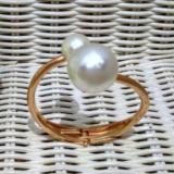 Jual Fashion Gelang Wanita Imitasi Bangle Gold Mutiara 1Pc Branded Original